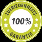 100%- Zufriedenheits-Garantie